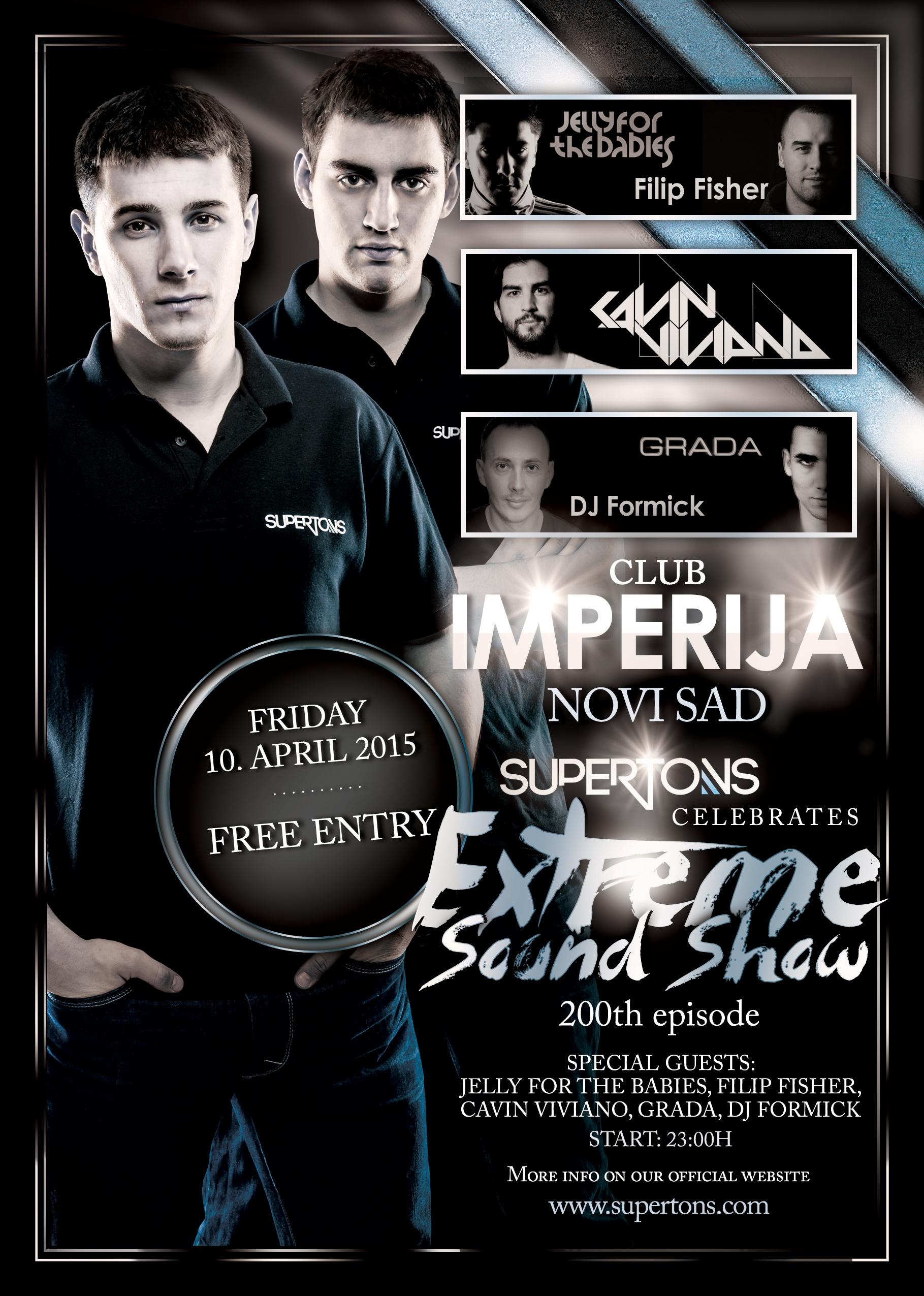 Extreme Sound #200 Imperija